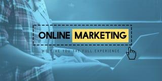 Online Marketing Social Media Information Website Concept Royalty Free Stock Images