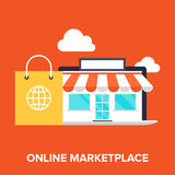 Online Marketplace Royalty Free Stock Images