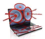 online communication Stock Image