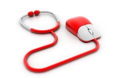 Online medical concept Stock Photos