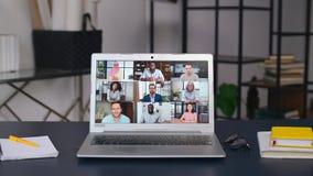 Online meeting of diverse work team
