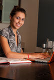 Online Meisje Royalty-vrije Stock Afbeelding