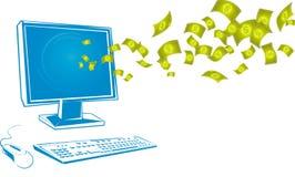 Online money Stock Photos