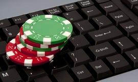 Online money Royalty Free Stock Photo
