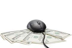 Online money concept Stock Photos