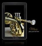 Online music Stock Image