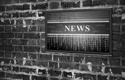 Online news concept Royalty Free Stock Images