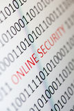 Online ochrona zdjęcia royalty free