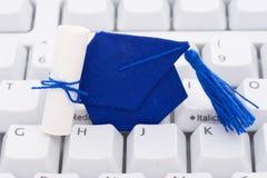 Online oder Internet-Ausbildung Stockfotos