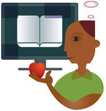 Online onderwijs Royalty-vrije Stock Fotografie