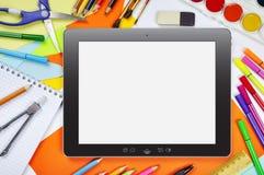 Online onderwijs Royalty-vrije Stock Afbeelding