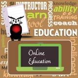 Online Onderwijs Royalty-vrije Stock Foto's