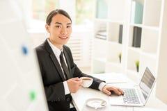 Online onderzoek stock fotografie