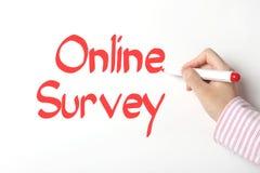 Online onderzoek stock afbeeldingen