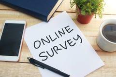 Online Onderzoek, Motieven de Commerciële Marketing van Internet Woordencitaten stock afbeelding