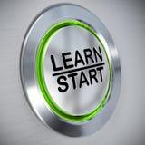 Online Opleidend, e-Lerend concept Stock Afbeelding