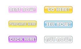 Online opslagstaven Royalty-vrije Stock Fotografie