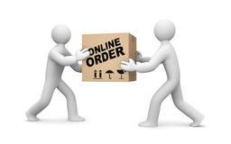 Online orde royalty-vrije illustratie