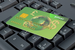 Online payment concept Stock Images