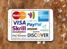 Free Online Payment Services And Systems Logos And Vector Royalty Free Stock Photos - 76210278
