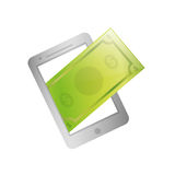 Online payment system. Icon  illustration graphic design Royalty Free Stock Photography