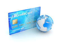 Online payments - concept illustration Stock Photos