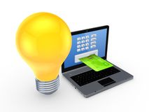 Online payments concept. Royalty Free Stock Images