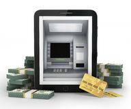 Online payments concept. Royalty Free Stock Photos