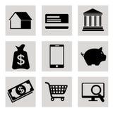 Online payments design. Online payments design over white background, vector illustration vector illustration