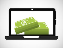 Online payments Stock Images