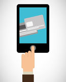Online payments Stock Photo