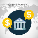 Online payments Royalty Free Stock Photos