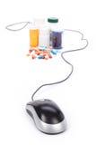 Online pharmacy Stock Image