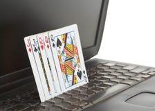 Online poker Stock Image