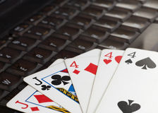 Free Online Poker Royalty Free Stock Images - 7193299