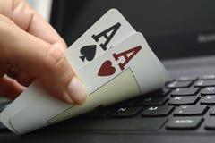 Online poker Royalty Free Stock Image