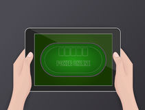 Online poker, online gambling, hobby Royalty Free Stock Photo