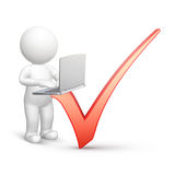 Online poll Royalty Free Stock Photography