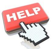 Online pomoc royalty ilustracja