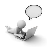 online-prata begrepp royaltyfri illustrationer