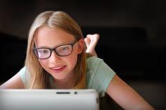 Online pretspelen Stock Foto's