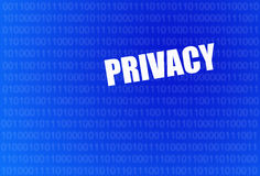 Online privacy Stock Image