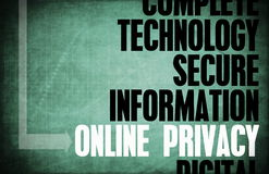 Online Privacy Stock Photos