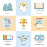 Online professional education Stock Image