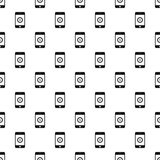 Online purchase in smartphone pattern Royalty Free Stock Image