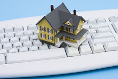 Online Real Estate Royalty Free Stock Images
