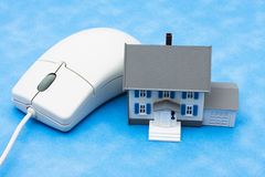 Online Real Estate Royalty Free Stock Photo