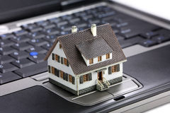 Online real estate concept Stock Image