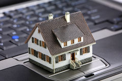 Online real estate concept Stock Photos