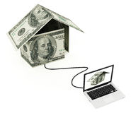 Online real estate Stock Photo